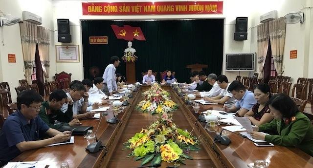 Các đại biểu dự Hội nghị giao ban công tác kiểm tra, giám sát Quý I/2018