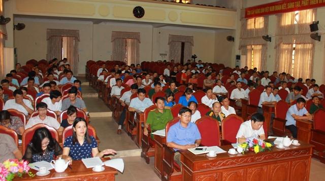 Can Lộc tổ chức đối thoại giữa Bí thư Huyện ủy với Mặt trận Tổ quốc và các đoàn thể