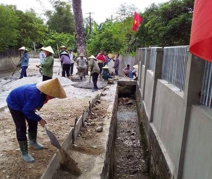 Huyện Nghi Xuân đẩy mạnh xây dựng nông thôn mới