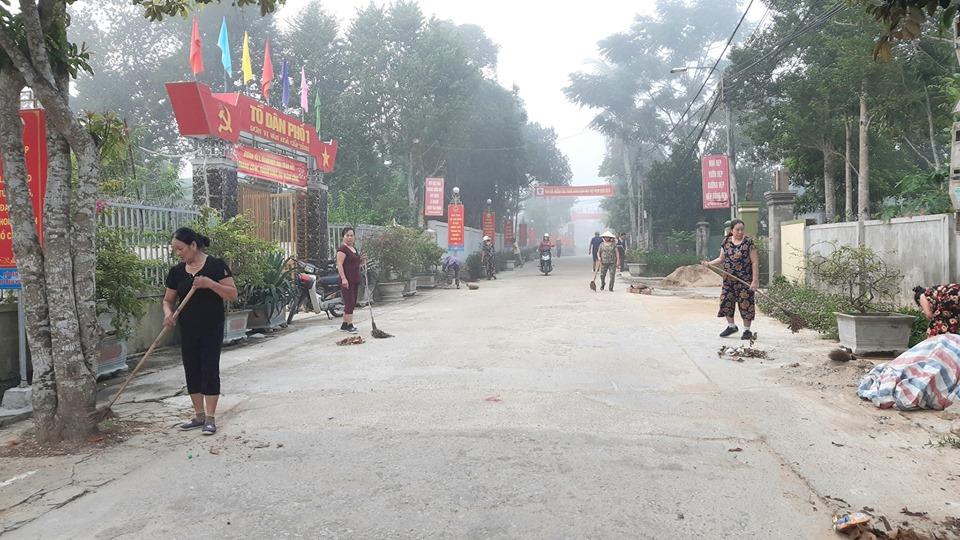 Từng bước xây dựng thị trấn Hương Khê đạt chuẩn đô thị văn minh