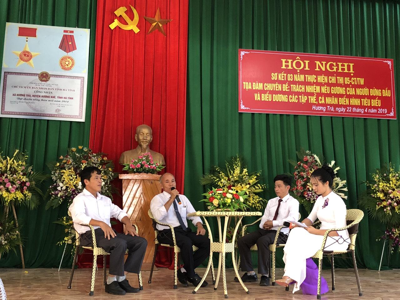 Đảng ủy xã Hương Trà tổ chức tọa đàm